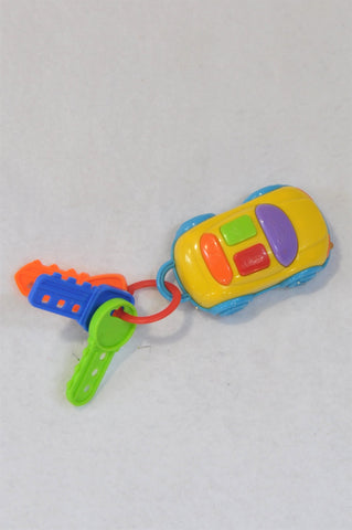 Unbranded Sound Car With Keys Toy Unisex 1-3 years
