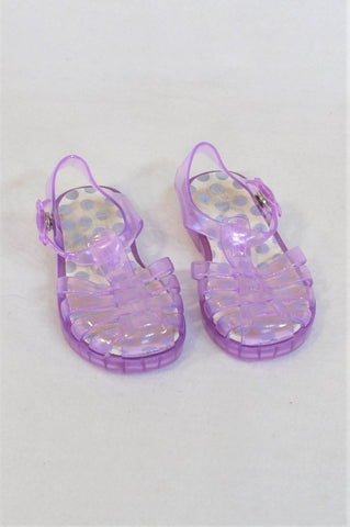 KDS Size 6 Purple Gelly Shoes Girls 18 months to 3 years
