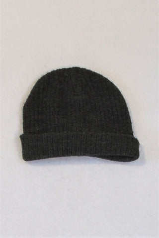 Unbranded Charcoal Beanie Boys 1-2 years