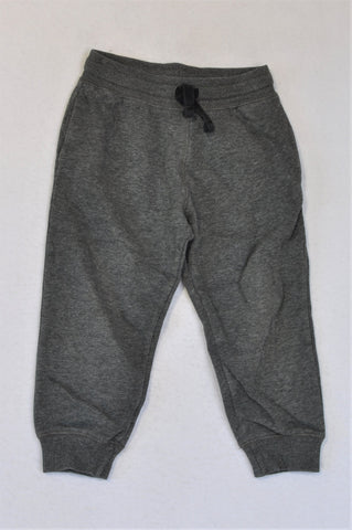 H&M Heathered Charcoal Pants Boys 2-3 years