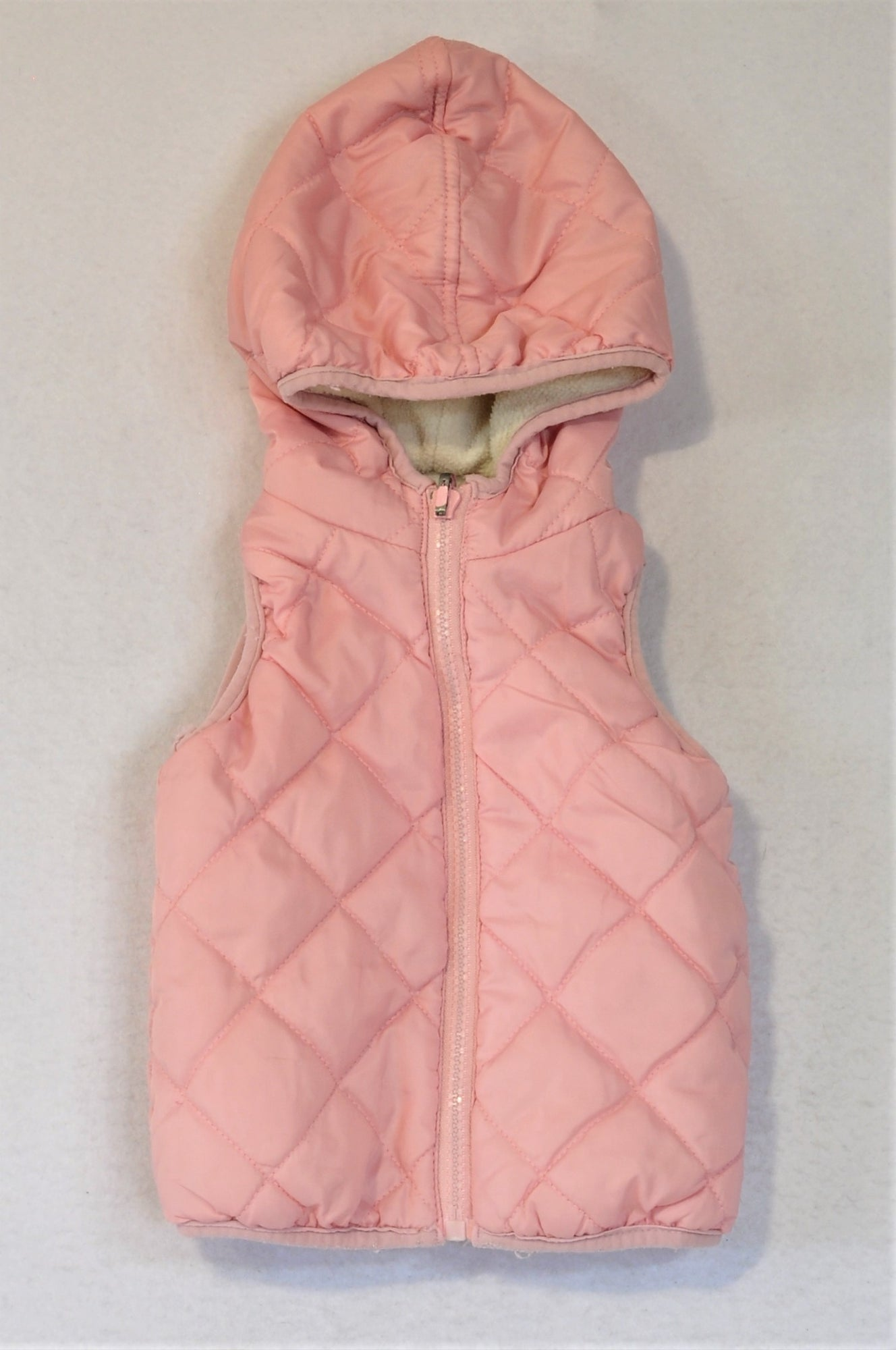 Ackermans Pink With Fleece Lining Top Girls 3-6 months