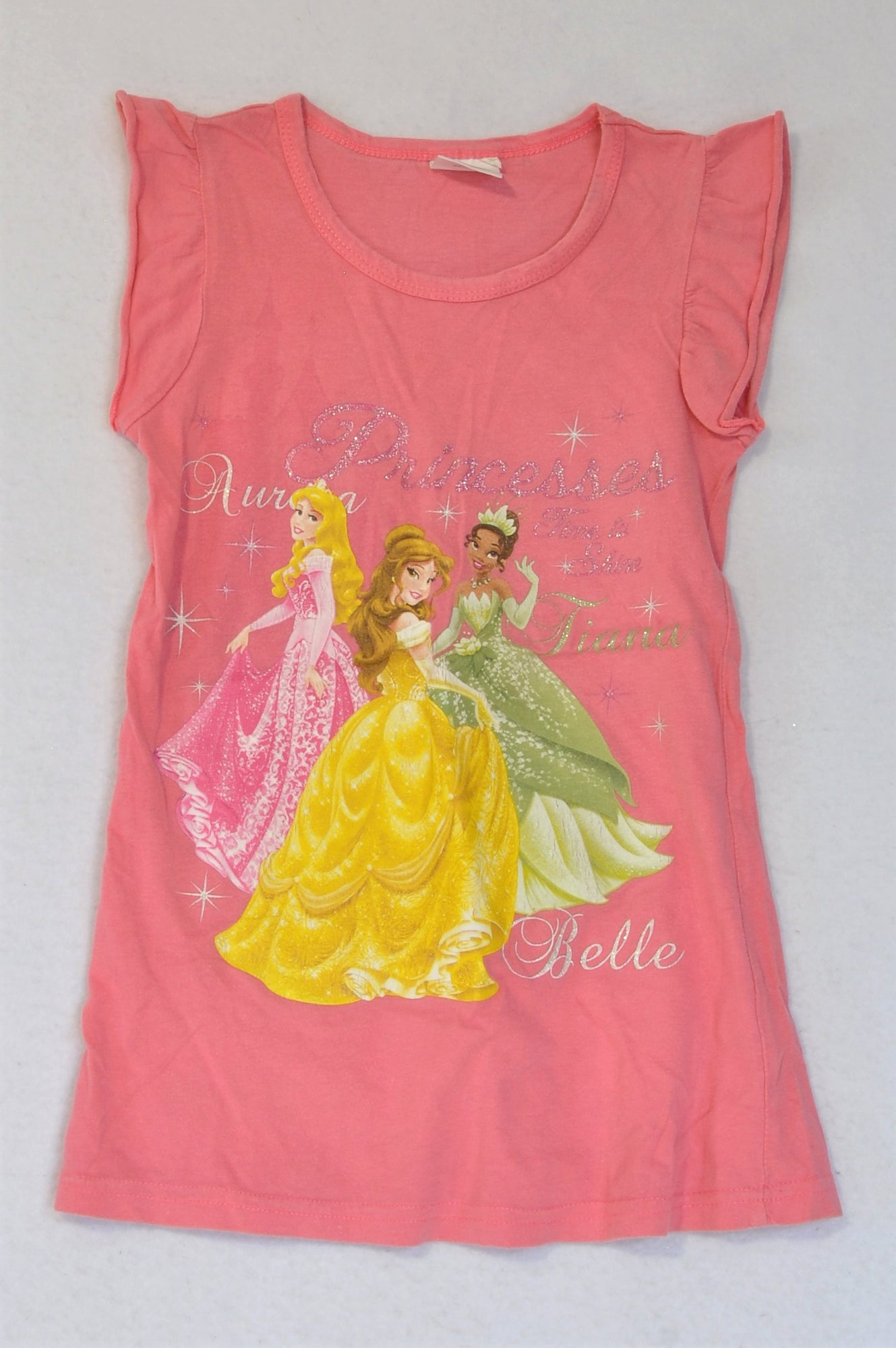 Disney Pink Princesses Time to Shine T-shirt Girls 4-5 years