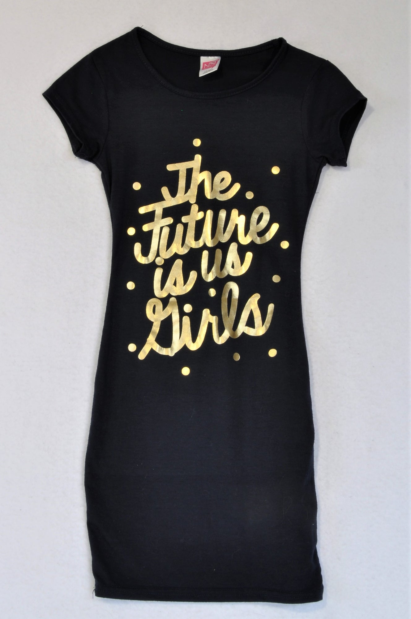 Nxt Generation Navy The Future Is Us Girls Dress Girls 5-6 years