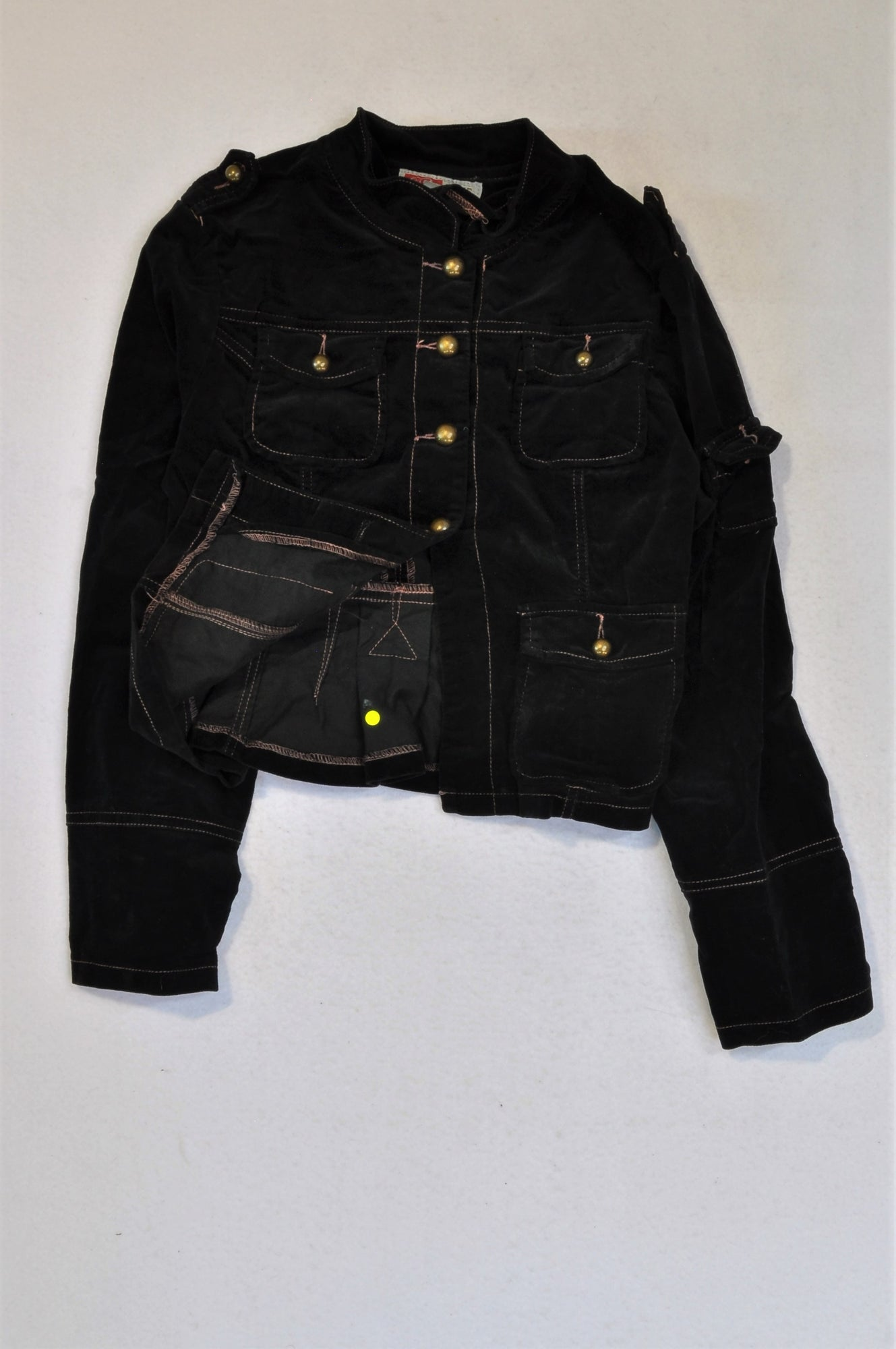Caihe Black Jacket Girls 3-4 years