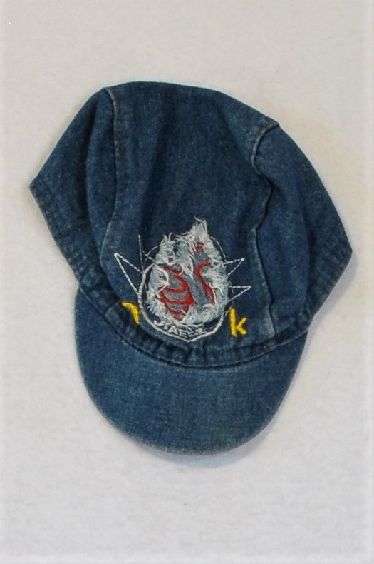 Unbranded Denim OK Hat Unisex 4-5 years