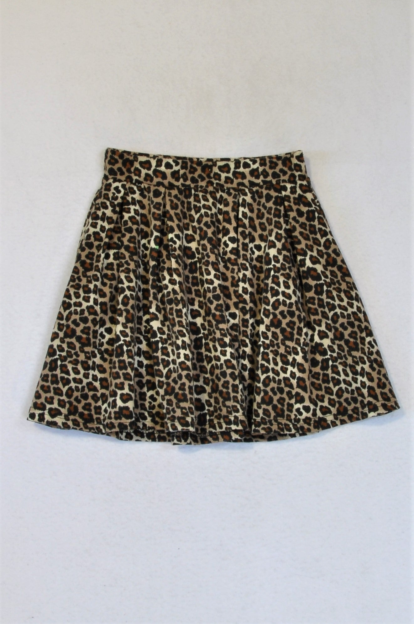Mr. Price Leopard Print Skirt Girls 7-8 years