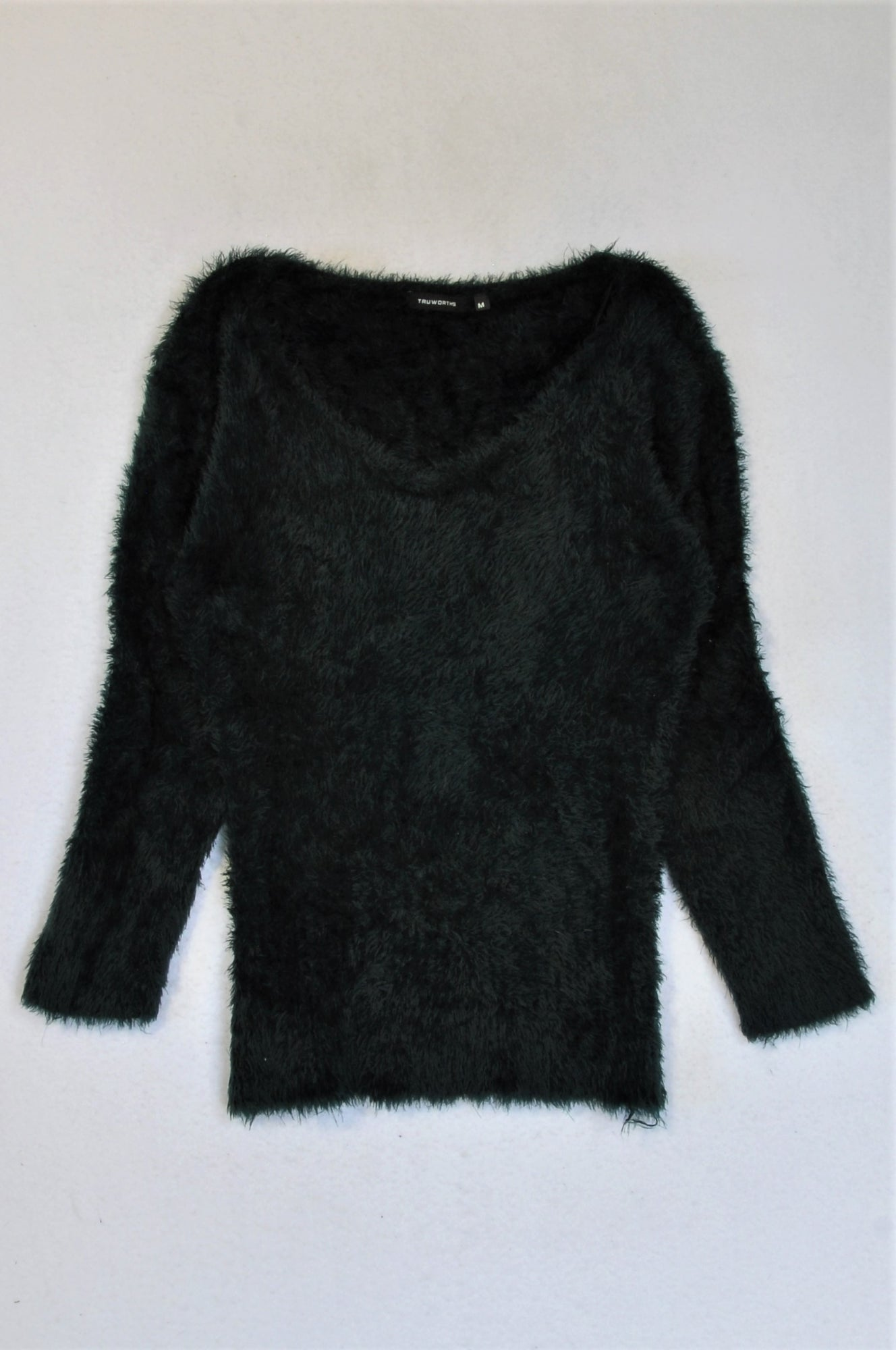 Truworths Black Fluffy Top Women Size S