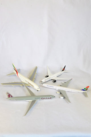 Unbranded Set Of 4 Airplane Models Toys Unisex 4+ years