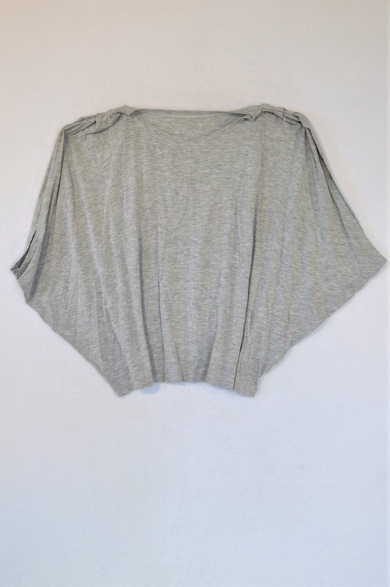 Woolworths Grey Loose Fit T-shirt Women Size S