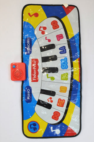 Fisher Price Dancin' Tunes Music Mat Toy Unisex 2-6 years