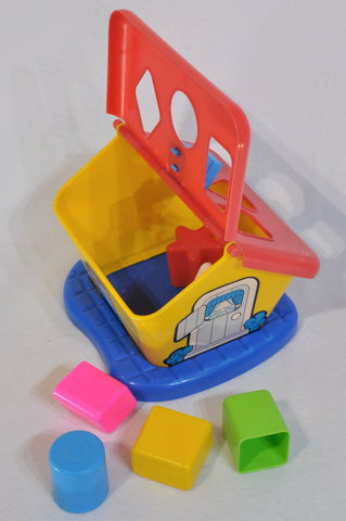 Unbranded Garden House Shape Sorter Toy Unisex 1-3 years