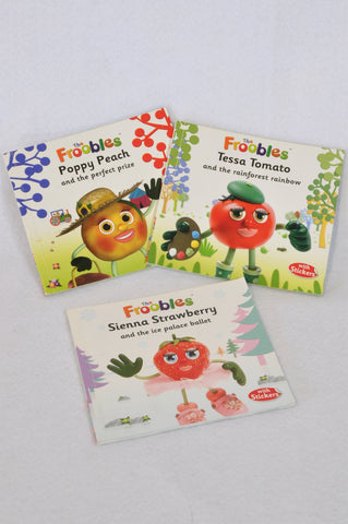 Unbranded 3 Pack The Froobles Mini Paperback Books Unisex 2-6 years