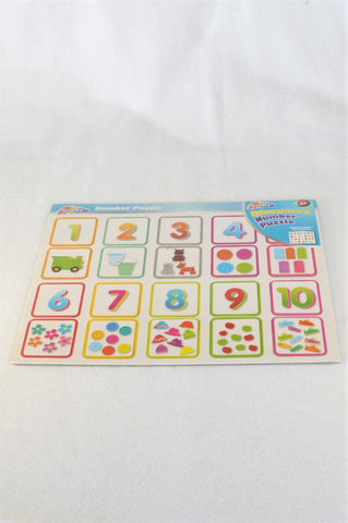 New Grafix Number Puzzle Unisex 2-7 years