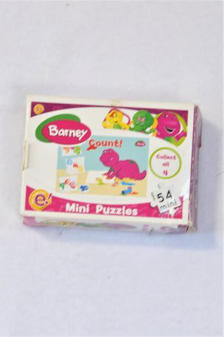 Barney 54 Piece Count Puzzle Unisex 3-7 years