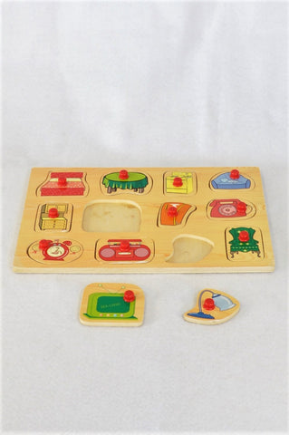 Unbranded Furniture Puzzle Unisex 2-7 years