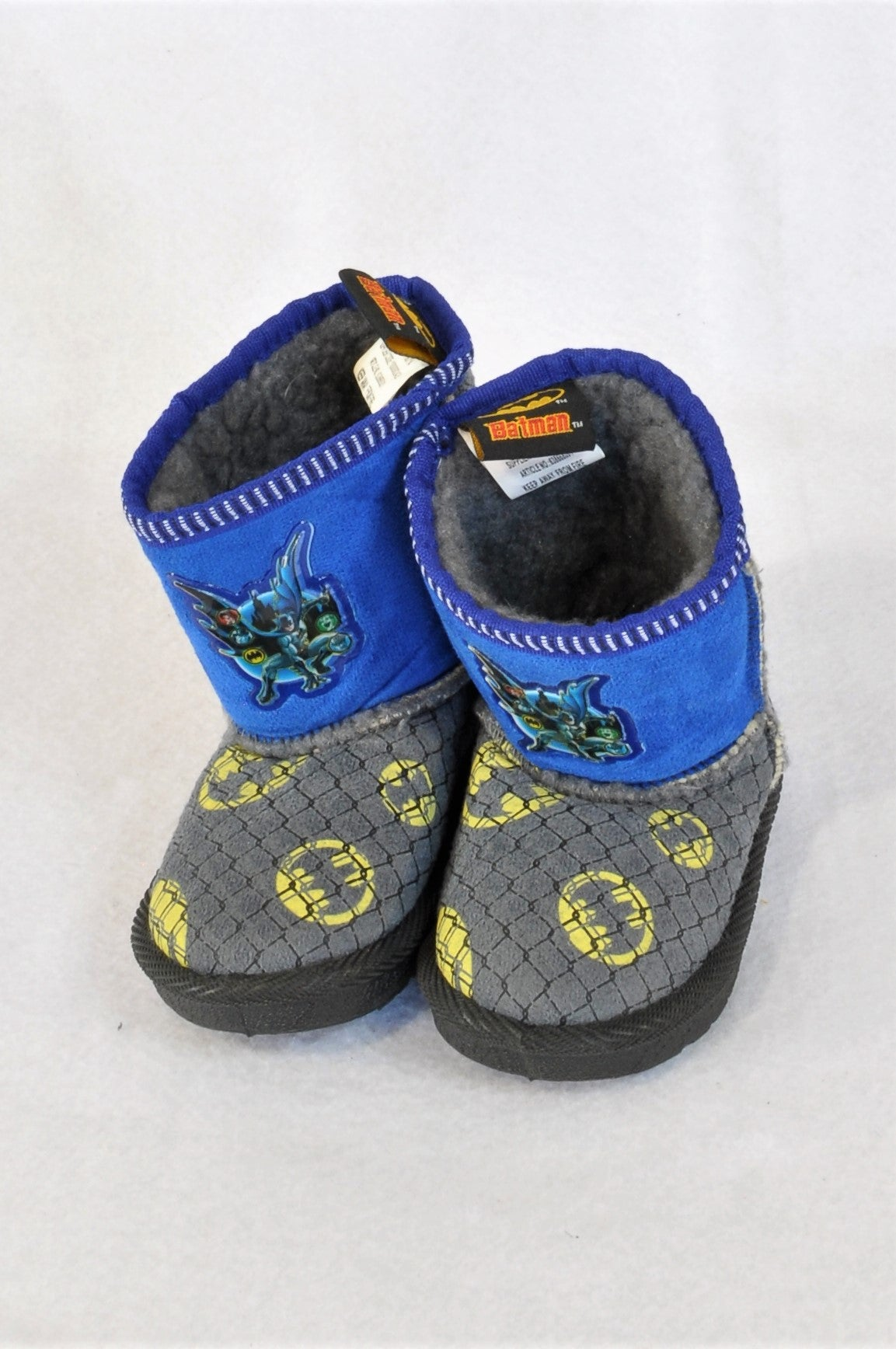 DC Size 5 Batman Bootie Slippers Boys 18-24 months