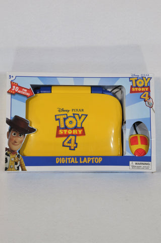 New Disney Pixar Toy Story 4 Digital Laptop Toy Unisex 3+ years