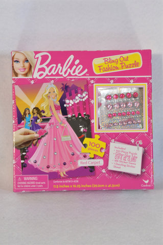 New Barbie 100 Piece Bling Out Fashion Puzzle Girls 4-10 years