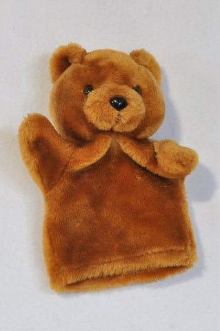 Unbranded Fluffy Bear Hand Puppet Toy Unisex 3+ years