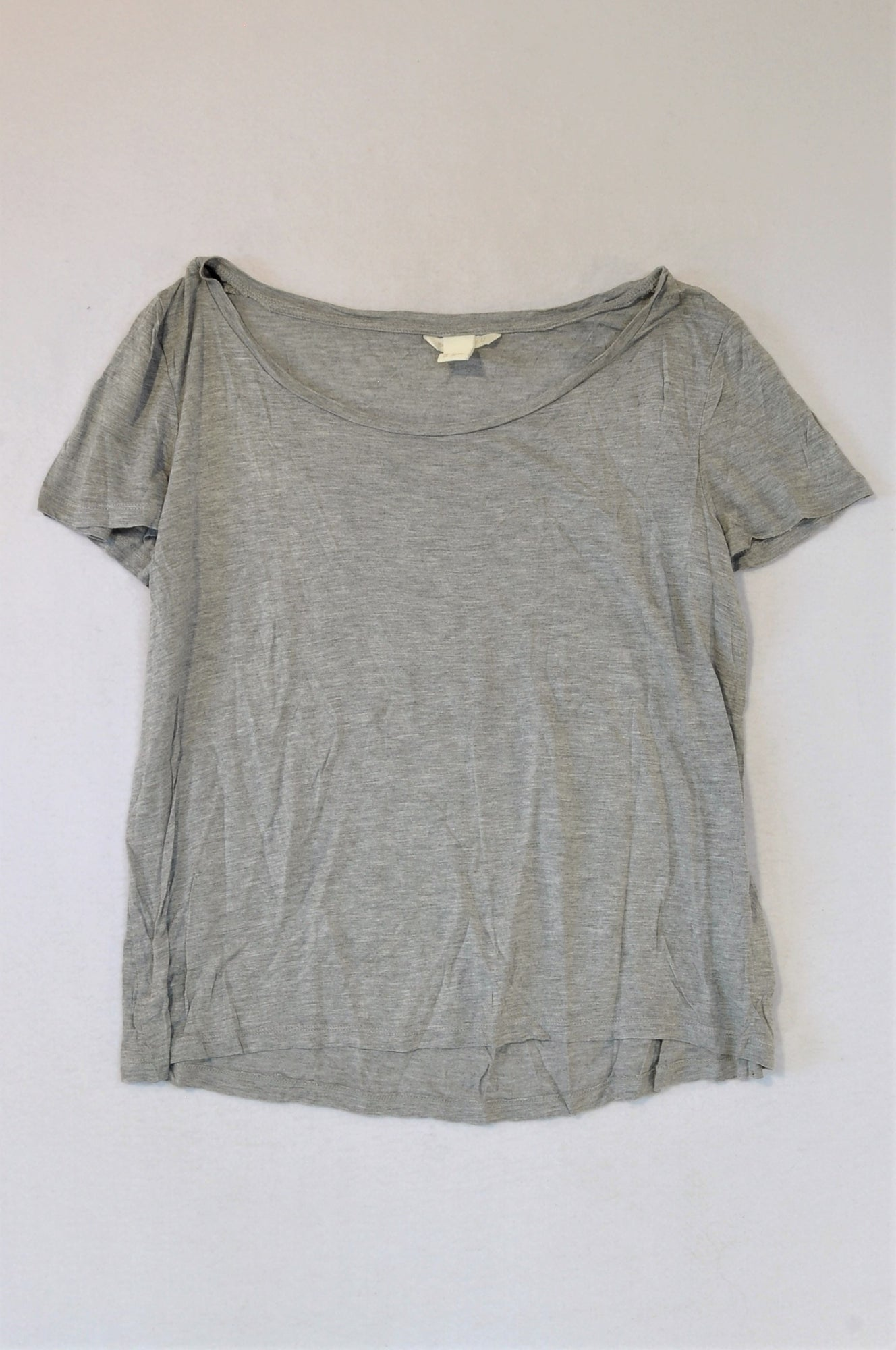 H&M Grey Basic T-shirt Women Size S