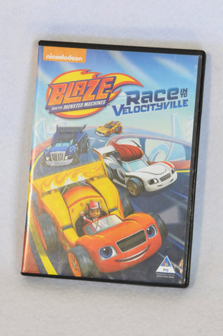 Nickelodeon Blaze and The Monster Machines Kids DVD Unisex 3-10 years