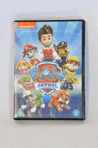 Nickelodeon Paw Patrol Kids DVD Unisex 3-10 years