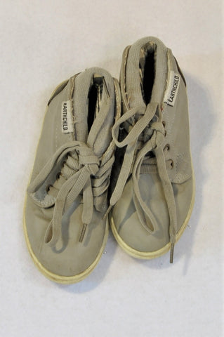 Earthchild Size 9 Beige Shoes Boys 3-4 years