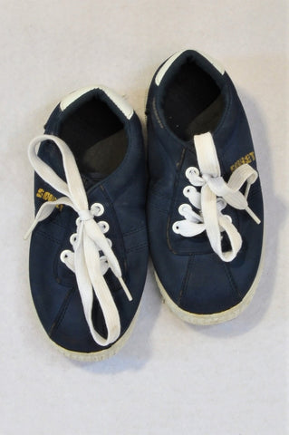 Soviet Size 9 Blue Shoes Boys 3-4 years