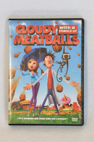 Unbranded Cloudy With A Chance Of Meatballs Kids DVD Unisex 3-10 years