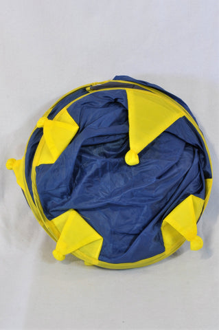Unbranded Blue And Yellow Play Tent Kids Accessory Boys 2-6 years