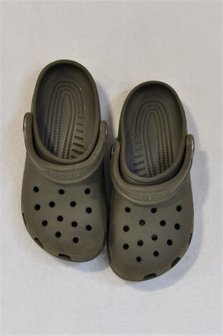 Crocs Size 4 Brown Shoes Unisex 8-10 years