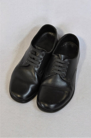 Toughees Size 3 Black School Shoes Boys 7-8 years