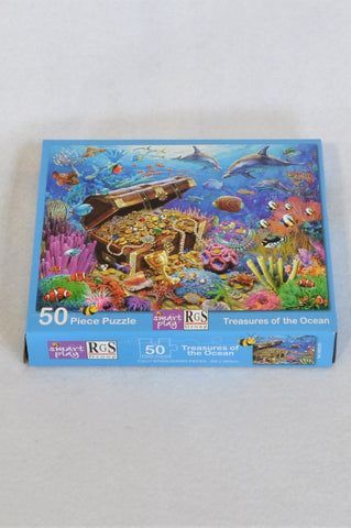 RGS Group 50 Piece Treasures Of The Ocean Puzzle Unisex 3-10 years