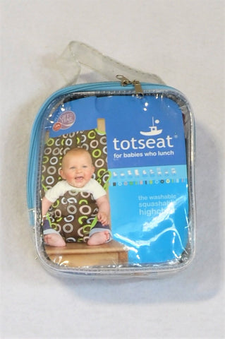 Totseat Pattern Washable Squashable High Chair Kids Accessory Unisex N-B to 2 years