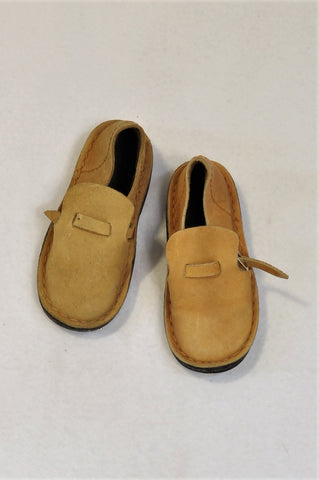 Unbranded Size 6 Leather Buckle Strap Loafer Shoes Boys 18 months to 3 years
