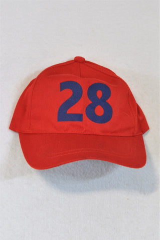 Jet Red Hat Boys 9-12 months