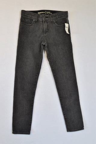 New GAP Faded Black Super Skinny Jeans Girls 6-7 years