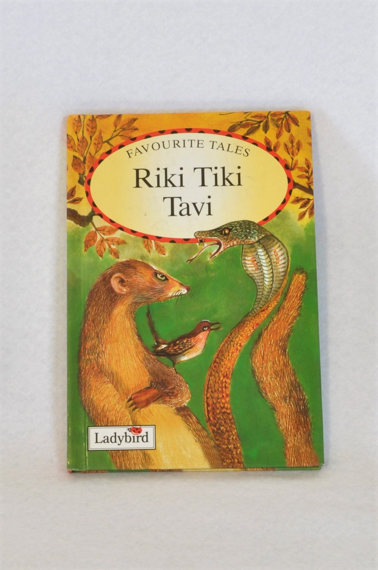 Unbranded Riki Tiki Tavi Small Hardcover Book Unisex 3-7 years