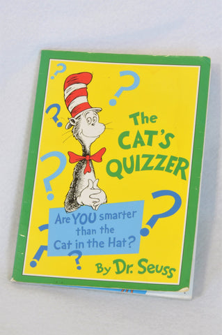 Unbranded Dr. Suess The Cat's Quizzer Paperback Book Unisex 3-7 years