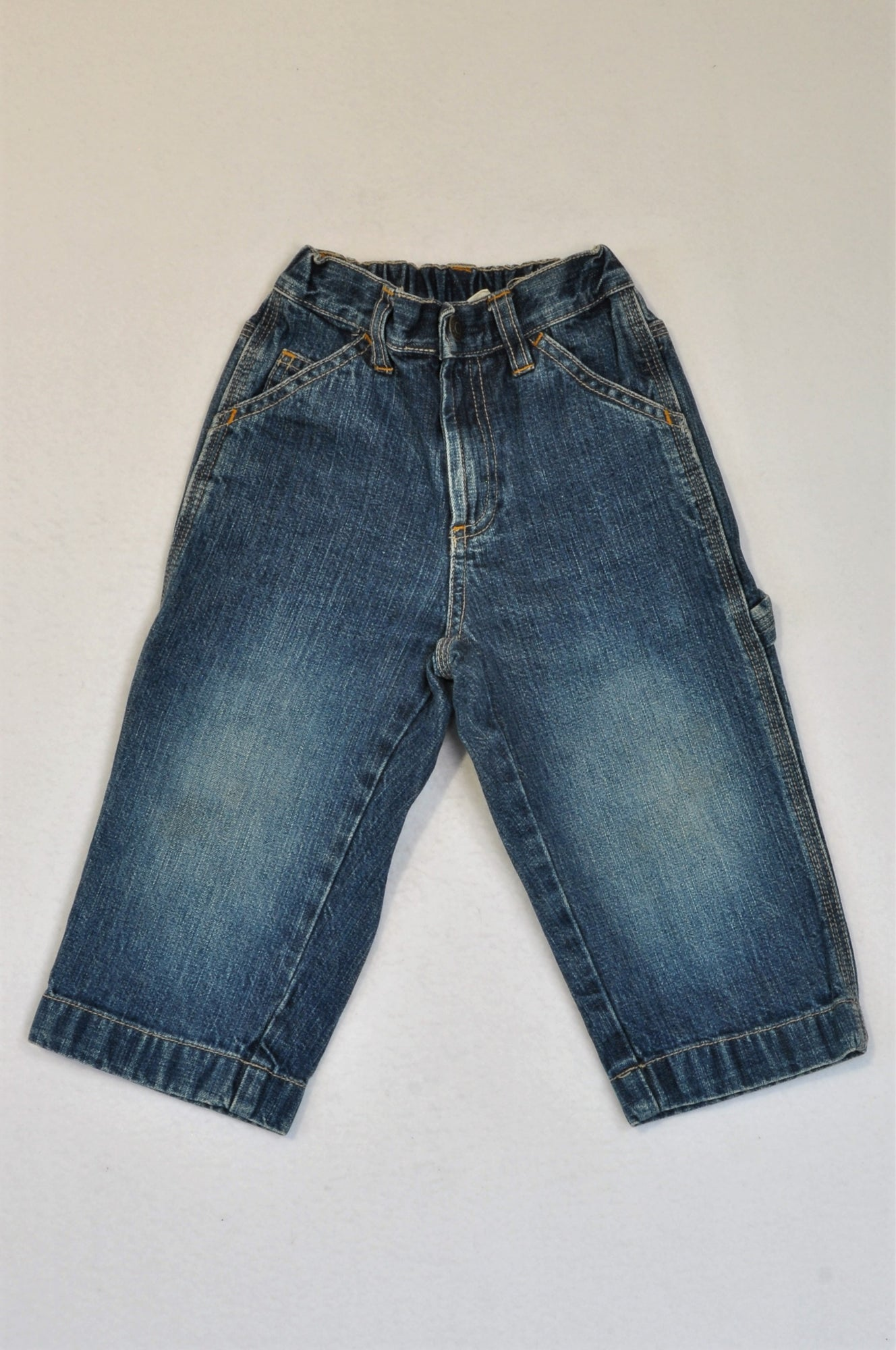 GAP Stretch Banded Straight Leg Jeans Unisex 18-24 months