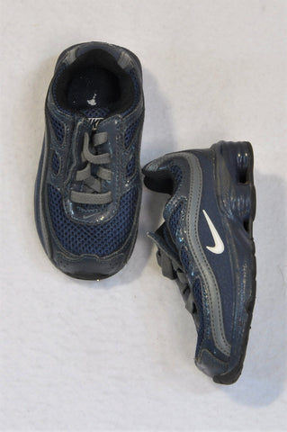Nike Size 5 Blue & Grey Turbo 9 Sneaker Shoes Unisex 18-24 months
