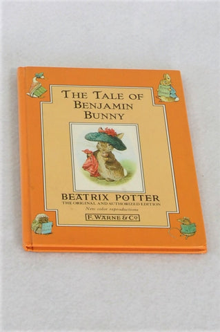 Beatrix Potter The Tale Of Benjamin Bunny Hardcover Book Unisex 3-10 years