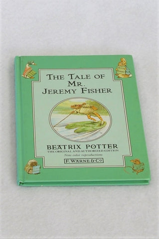 Beatrix Potter The Tale Of Mr. Jeremy Fisher Hardcover Book Unisex 3-10 years