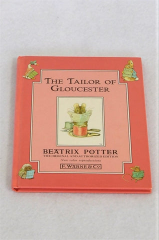 Beatrix Potter The Tailor Of Gloucester Hardcover Book Unisex 3-10 years