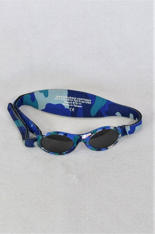 Baby Banz Blue Camo UV 50+ Glasses Kids Accessory Boys 0-2 years