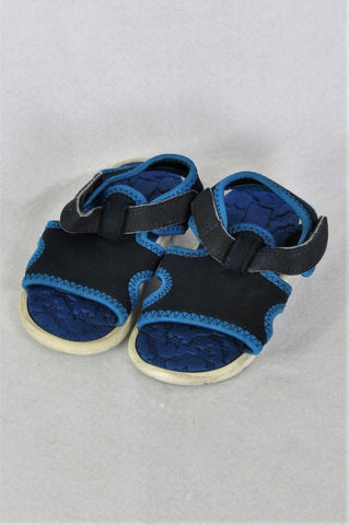 Woolworths Blue Water Resistant Sandals Boys Children Size 8