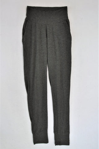 Cherrymelon Grey Jogger Maternity Pants Size S