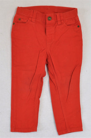 H&M Red Pants Boys 12-18 months