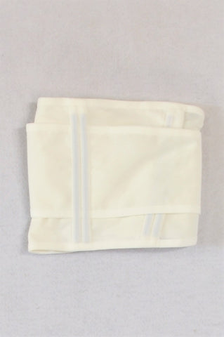 Unbranded White Belly Binder Size M