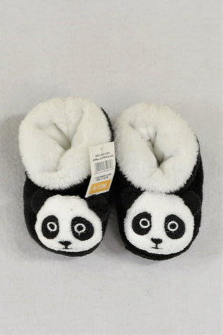 New Pick 'n Pay Panda Slippers Unisex Infant Size 2